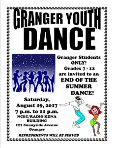Granger Youth Dance @ NCEC/KDNA Building