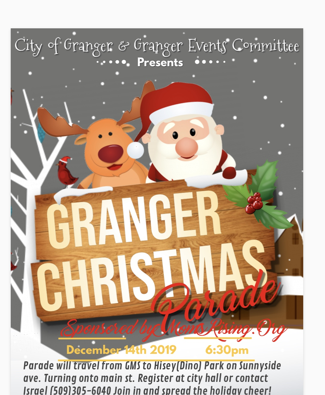 Granger Christmas Parade @ City of Granger